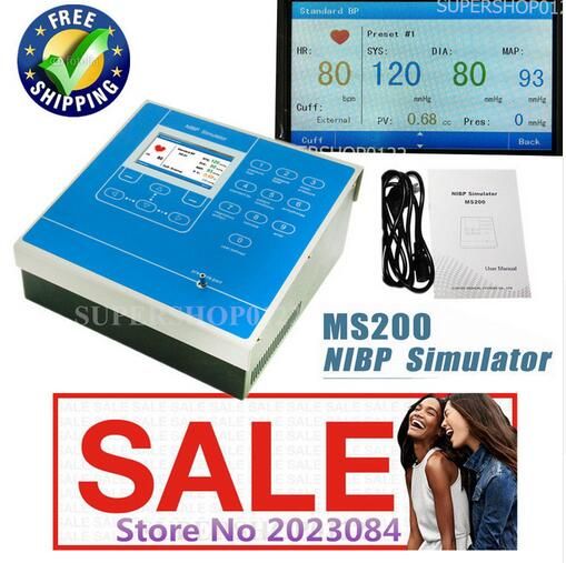 CE NIBP Respiratory,multi-purpose tester Non-Invasive Blood Pressure Simulator цена