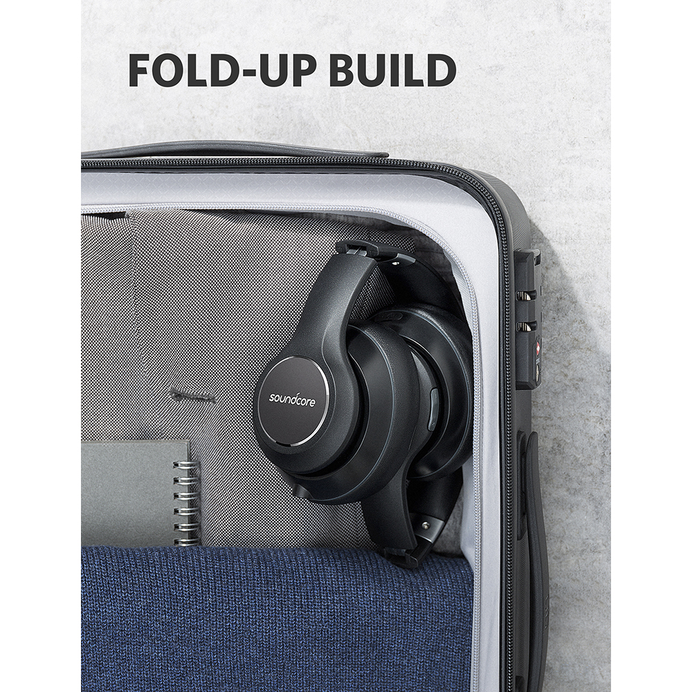 Anker Soundcore by Vortex Wireless Over Ear Headphones with 20H Playtime Bluetooth 4.1 Hi Fi Stereo Sound Memory Foam Earmuffs-in Phone Earphones & Headphones from Consumer Electronics    3