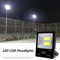 30W 50W 100W 150W 200W LED Flood light 110V 220V Waterproof Floodlight Spotlight Projection lamp LED COB basketball field lights