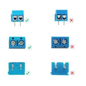 Image 2 - MCIGICM באיכות גבוהה 5.08 301 2 p 2 פינים 3pin PCB הר כוח בורג מסוף בלוק מחבר עבור Arduino