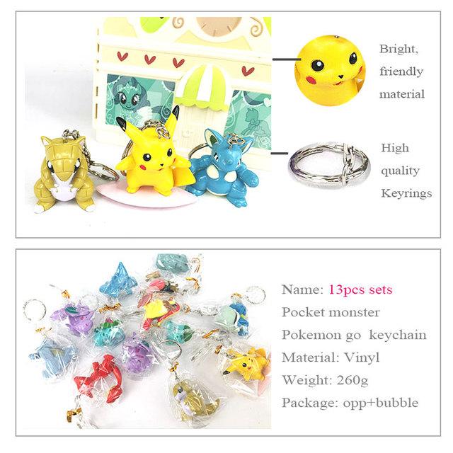 pokemon Key Chain 13pcs/Set