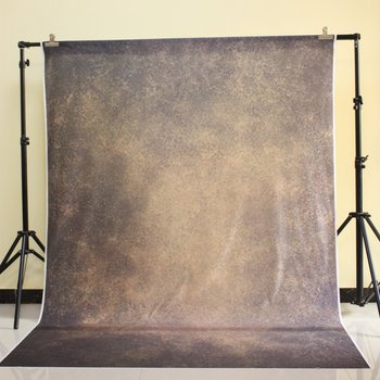 150x220 cm Cotton Polyester Dark Deep Color Background Christmas Party Backdrop Children Photo Backdrop Yellow brown wall D-8979