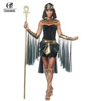 Egypt Pharaoh Cleopatra Costume Adult Halloween Christmas Costume Couple Carnival Costume Fantasia Infantil Cosplay Party Suit