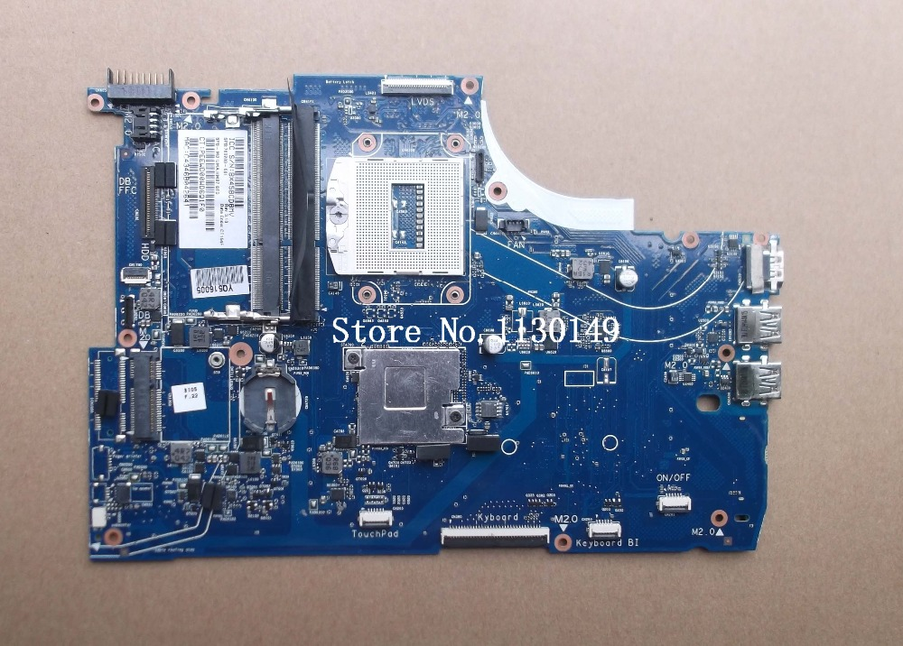 760289-001 760289-601 Free Shipping Original 760289-501 FOR HP 15-Q 15T-Q M6-N series Laptop Motherboard HM87 Mainboard free shipping original 753100 501 laptop motherboard for hp 15 d 250 g2 notebook mainboard 753100 001 n2820