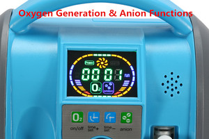 Image 3 - Battery Oxygen Concentrator Medical Health Care Oxygenation and Aion Functions Oxygen Generator Outdoor Recommended O2 Generator