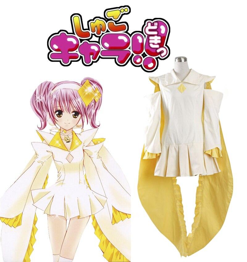 Free Shipping Shugo Chara! Hinamori Amu Dress Anime Cosplay Costume shugo chara 2