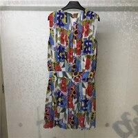 Fashion Spring Dresses For Women 2018 Bohemian Knee Length Dress 2019 High Quality Dress Office Lady