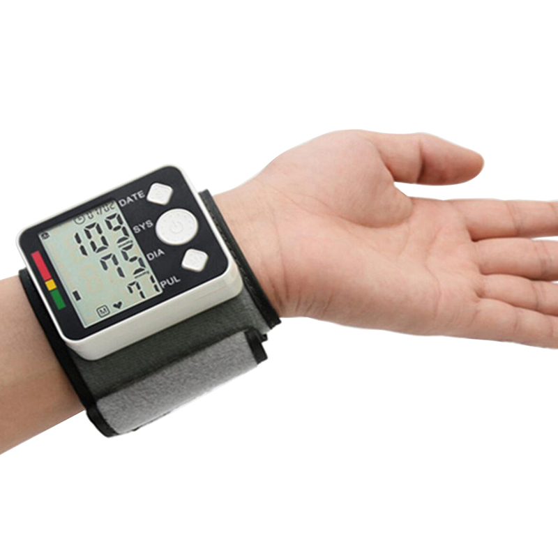 Image 2 - tonometer on the wrist blood pressure meter Monitor Digital Tonometer & Pulse Meter Health Care Sphygmomanometer diagnostic tool-in Blood Pressure from Beauty & Health
