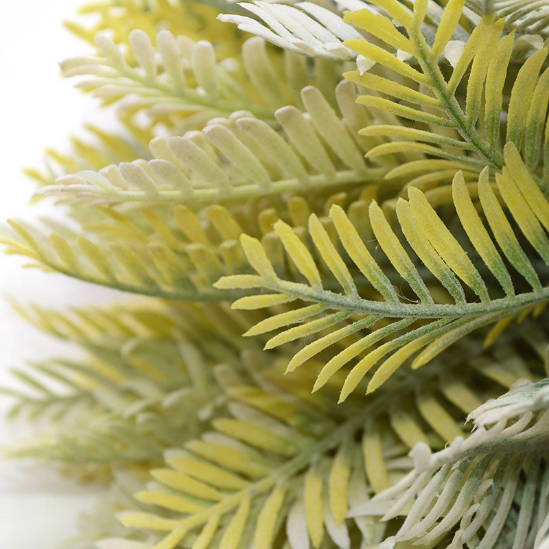 6/12/30pcs Needle Leaf Artificial Flowers Plant Rustic Wedding Home Decoration Handmade DIY Wreath Christmas Fake Fir Leaves