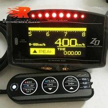 Df zd medidor de calibre automático display digital medidor de temperatura de óleo de água medidor de pressão de óleo calibres rpm velocidade 10 em 1
