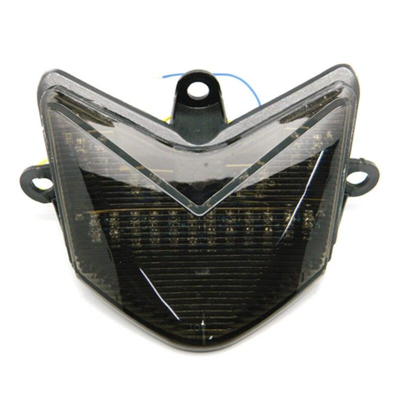 Motorcycle Smoke LED Tail Light Turning Singal Light Stop Lamp For Kawasaki Ninja ZX-10R ZX10R 2004 2005