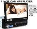 Новое Прибытие 7 дюймов LCD Автомобиля MP5 MP4 Плеер FM USB SD TF AUX поддержка камера заднего HD стерео радио универсальный 1 din дистанционного управления