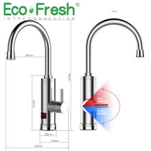 Kitchen Water Faucet-Heater Instantaneous-Heater Cold-Heating-Faucet Electric Tankless