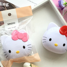Милый дизайн hello kitty чехол для контактных линз laa-D27