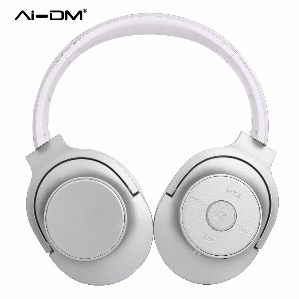 AIDM Bluetooth Headphones,Comfortable Earpads Hi-Fi Stereo Wireless Headsets,Playtime For Computer Travel Work Training Earphone new original authentic computer used motherboards for biostar hi fi a88s3e fm2 a88 motherboard hi fi hdmi