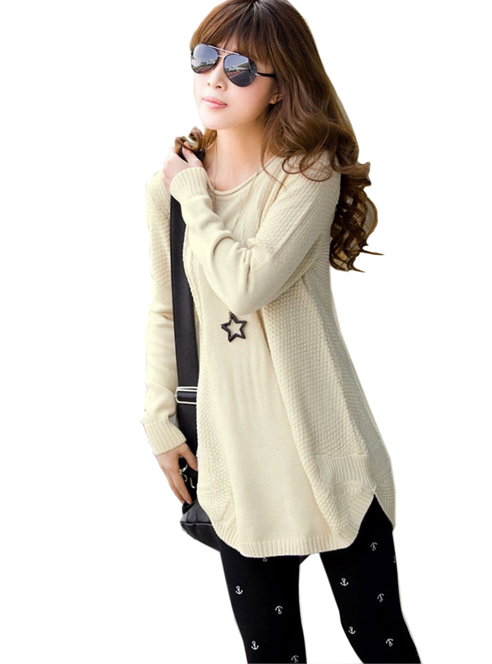 New Fashion 2017 Women Sweater blusas Winter Thick Sweater Dress ...