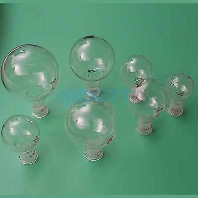 50ml Quickfit 24/29 Socket Lab Glass Flask Round Bottom Single Short Neck Ware