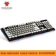 HEXGEARS Mechanical Keyboard Gaming PUBG Backlight Keyboards twclado USB PC Computer Mekanik Klavye RGB Clavier Gamer Keyboard