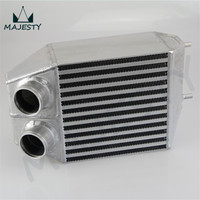 TWIN 2 rows SUPER CAPACITY SIDE MOUNT INTERCOOLER for RENAULT 5 GT TURBO 85 91