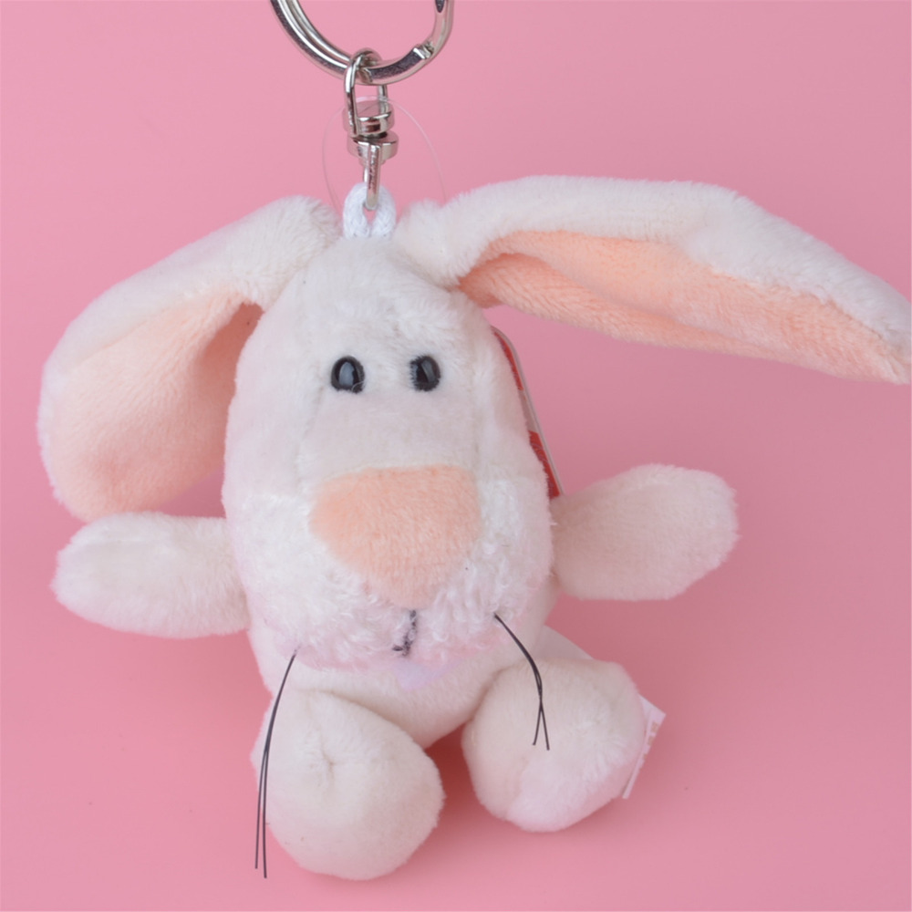 3 Pcs White Rabbit Plush Pendant Toy, Kids Doll  Keychain / Keyholder Gift Free Shipping блокнот printio white rabbit