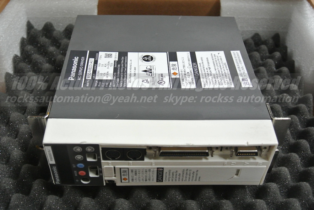 MSDA083D1A61 750W Used In Good Condition With Free DHL used in good condition ka20c 750w with free dhl