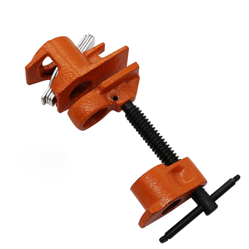 3/4 inch Woodworking Tools Heavy Duty Pipe Clamp Fixture Rocker Rang Clamp цены