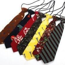 Коллекция года, брендовый хлопковый галстук для мальчиков, цветочный галстук для детей 6 см, галстук с цветочным принтом, тонкий эластичный галстук для девочек, Gravatas