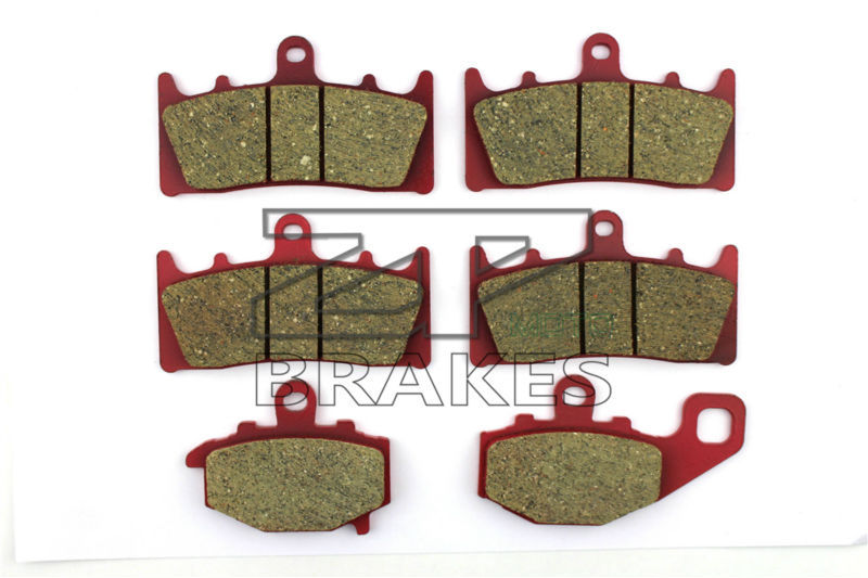 Brake Pads Ceramic For Front + Rear KAWASAKI ZZR 600 J6F/J7F/J8F 2005-2008 OEM New High Quality ZPMOTO motorcycle brake pads ceramic composite for triumph 800 tiger 2011 2014 front rear oem new high quality zpmoto