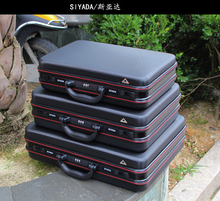 Алюминиевый корпус инструмента Toolbox алюминиевая рама бизнес-консультативная чемодан человек портативный чемодан портфель чемодан карты коробка