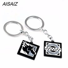 FPS Game Rainbow Six Siege Clash Maverick key chain Necklace Zinc Alloy Pendant Men Women Jewelry Fans Gift Charms Accessories(China)