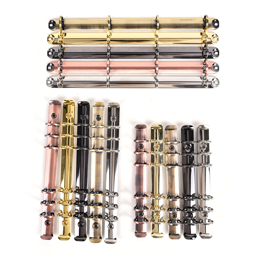 A4 A5 A6 paslanmaz çelik klasör dosya klasörü klip halka bağlayıcı klip demir klip renkli Metal Spiral bağlayıcı klip