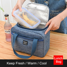 Waterproof Insulated Lunch Bags Oxford Travel Necessary Picnic Pouch Thermal Dinner Box Food Storage Case Accessories Organizer