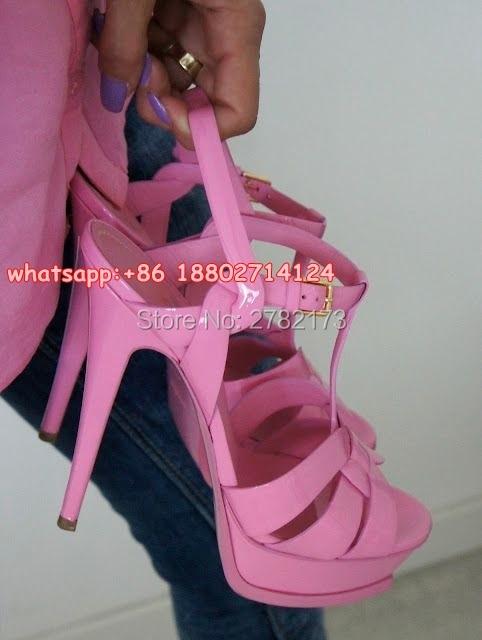ФОТО Top Quality Women Rome Style Thin High Heels Sexy Stiletto Plaftorm Sandals Shoes Open Toe Design Catwalk High Heels Pumps