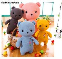 5439f2faa99 Grande 50 cm linda flor dos desenhos animados urso teddy urso de pelúcia  brinquedo macio lance boneca travesseiro presente de an.