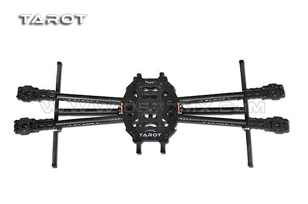 Tarot 650 fibre de carbone 4 essieux cadre avion pliable 3 K Kit de cadre en Fiber de carbone TL65B01 pour Drone RC quadrirotor FPVTarot 650 fibre de carbone 4 essieux cadre avion pliable 3 K Kit de cadre en Fiber de carbone TL65B01 pour Drone RC quadrirotor FPV