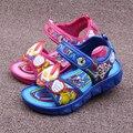 Горячая 2016 лето из светодиодов детская обувь синий / зеленый / красный флэш-flasher малыш сапоги девочек и мальчиков сандалии детская обувь для девочек