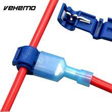 Провода соединитель кабельный соединитель Премиум аксессуары замена обжимной Быстрый Сращивание практичный 50 шт