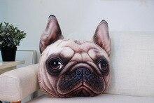 38cm*48cmCeative 3D Animal Tiger Face Headrest Pillow Sead Support Women Sleep Neck Rest Plush Cushion Pillow Cute Meow for home