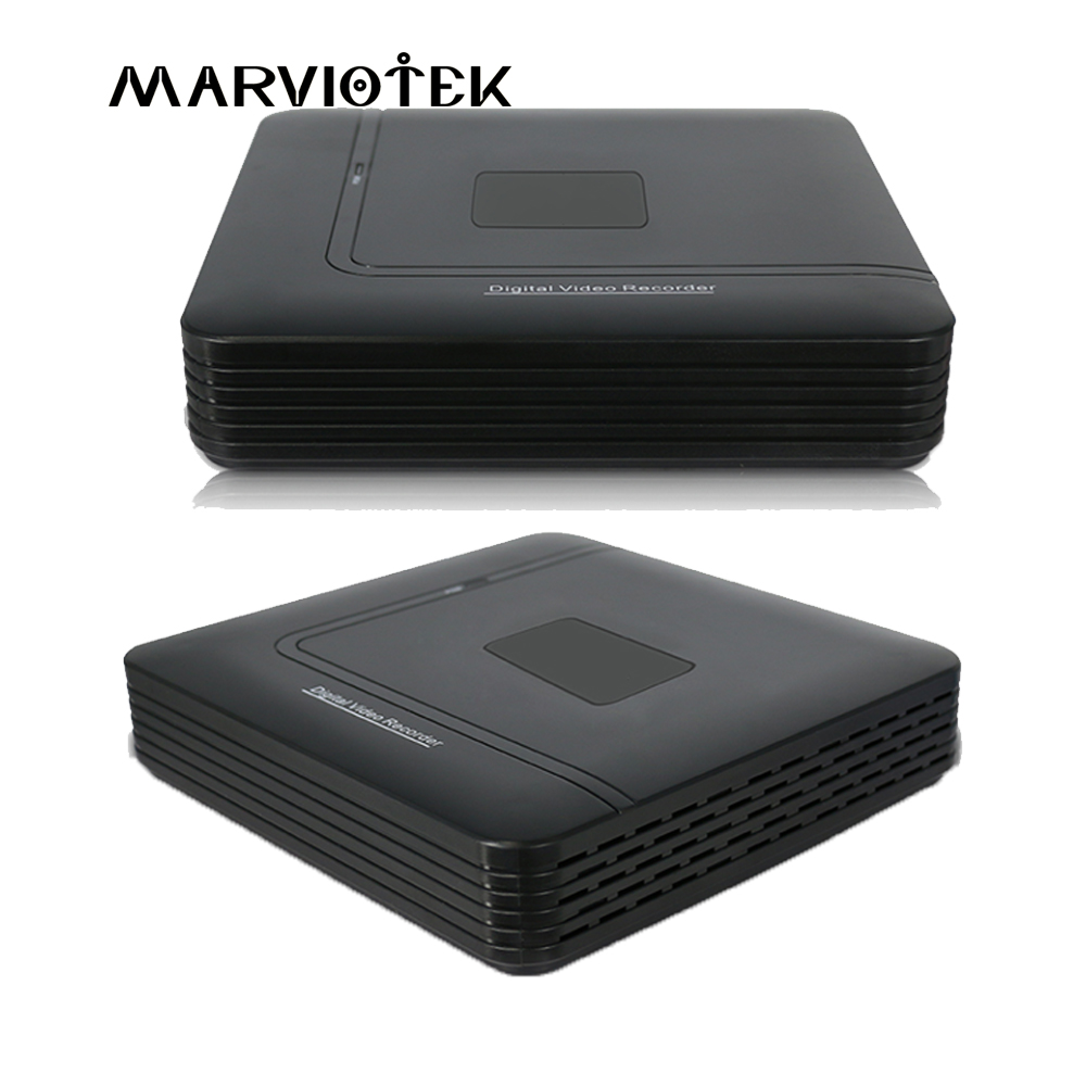 MARVIOTEK 4CH CCTV DVR AHD 1080N 8CH Mini DVR For CCTV Kit VGA HDMI Security System Mini NVR For 1080P IP Camera Onvif DVR PTZ smar newest mini 4ch cctv dvr nvr ahd