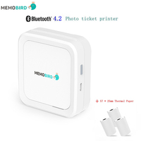 Mini Printer MEMOBIRD G3 New Bluetooth 4 2 Portable Phone Wireless Photo Printer USB Micro Connector