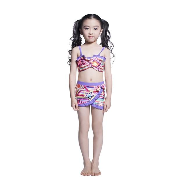 17d0500cfa Swimsuit Girls 2 Pieces Swimwear Bikini Baby Children Swimwear Girls Bikini  Kids Swimming Suit Shorts Girls Kids Swimsuit Swim