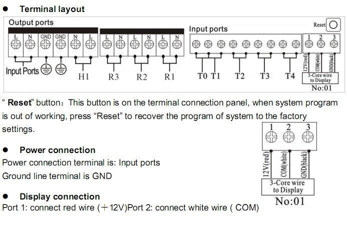 12 В SR81(SR868C8) Солнечный водонагреватель контроллер температуры Солнечный контроллер с ЖК-функцией