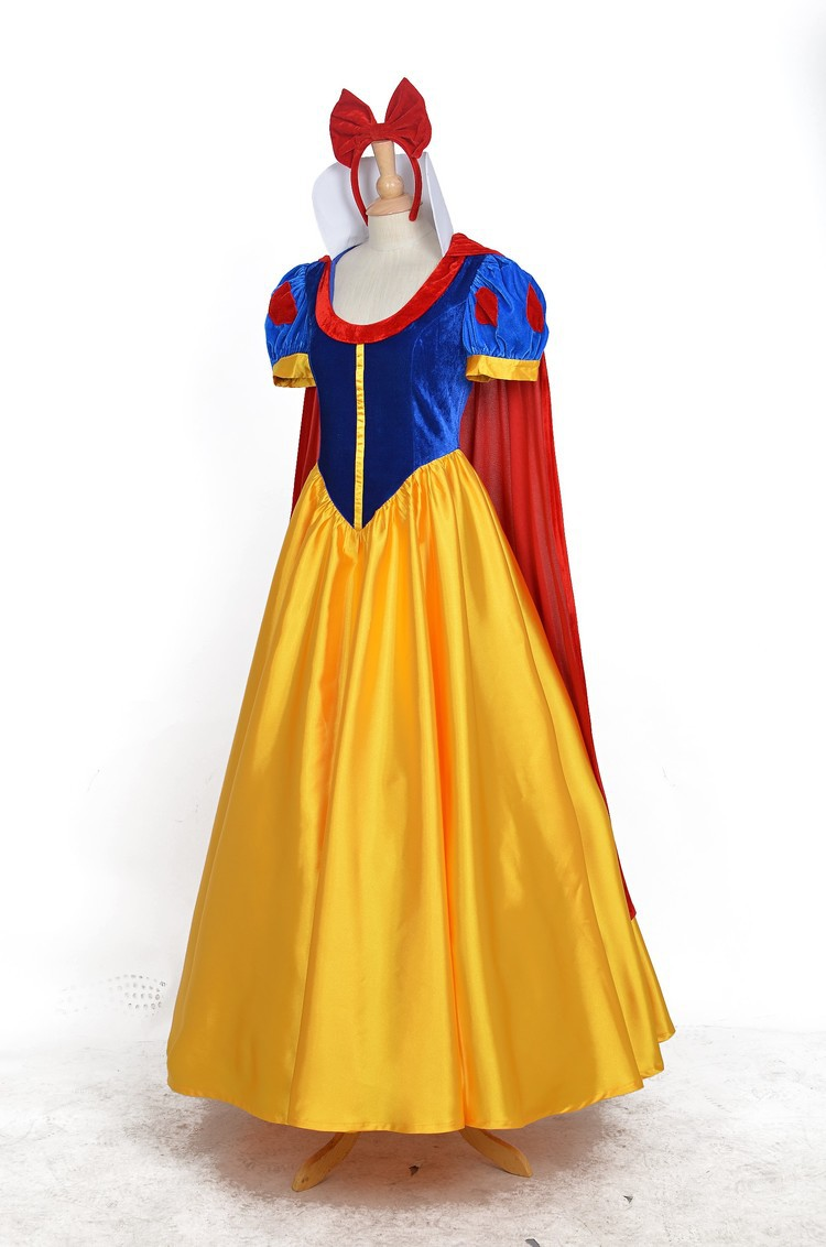 Hot Animation Snow White cosplay Snow White dress cosplay costume ...