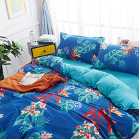 Summer bedding set coconut tree Duvet Cover Set Full Twin Queen quilt cover with pillowcase birthday present bed linen set new
