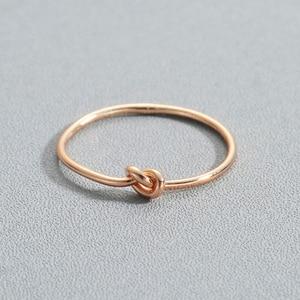 Минималистичные кольца для мужчин и женщин Todorova, Винтажное кольцо миди золотого цвета с сердечком и узлом, повседневные ювелирные изделия, ...