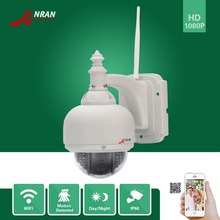ANRAN Outdoor 22 IR H.264 Onvif 2.0 MegaPixel 25fps 1080P Full HD Pan/Tilt Network Wireless Wifi IP Camera 6mm Lens