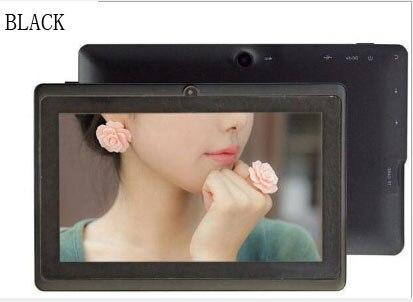 7 POUCES Étudiant Tablet PC 200 W Pixels HD Affichage Écran Meilleur compagnon Pour Les Enfants L'apprentissage adjoint