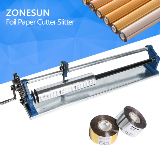 Foil Paper Vinyl Cutter Slitter Hot Stamping Roll Hand Cutting Machine Tool