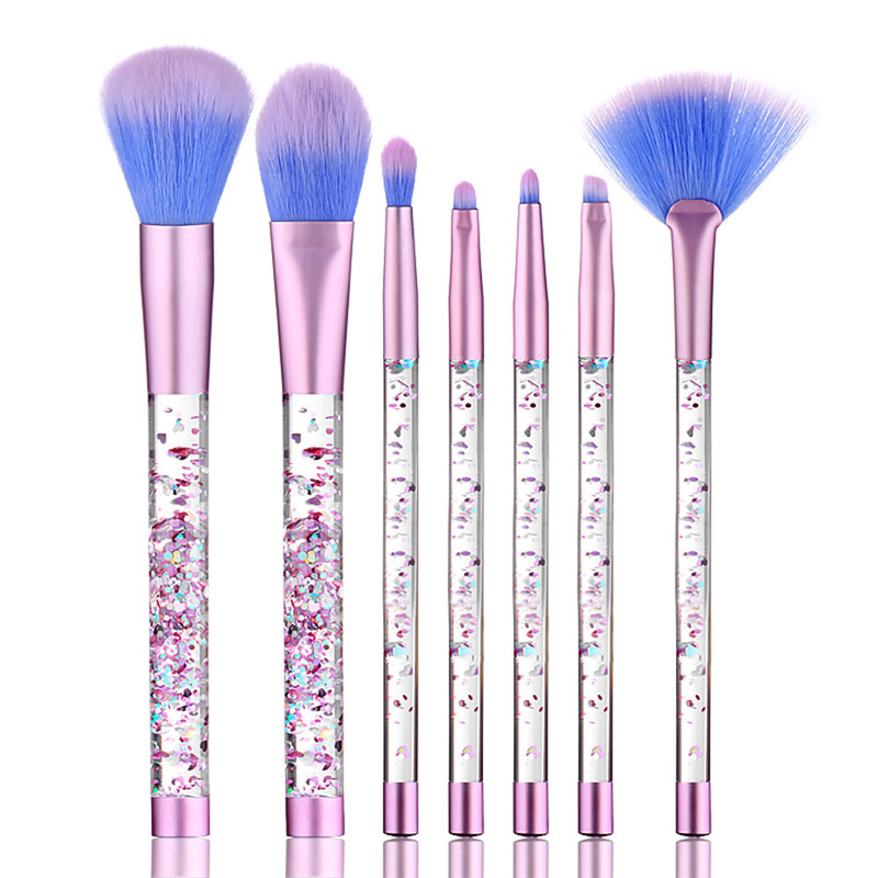 Eyebrow Eyeliner Blush 7PCS Make Up Foundation  Cosmetic Concealer Brushes  FASHION HOT Tool drop shipping 17sep 1 ноутбук dell vostro 5568 5568 9975 5568 9975