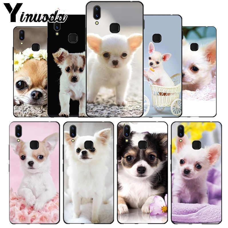 Yinuoda Love Chihuahua dog puppy Novelty Fundas โทรศัพท์สำหรับ vivo x20 plus x21 ud nex s x9s V9 v7 Y 83 case funda